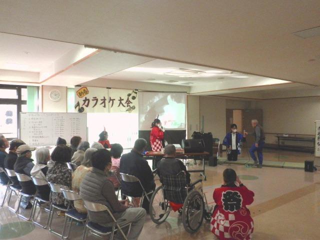 新春カラオケ大会1